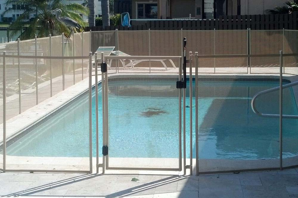 Baby guard pool fence of fort lauderdale florida